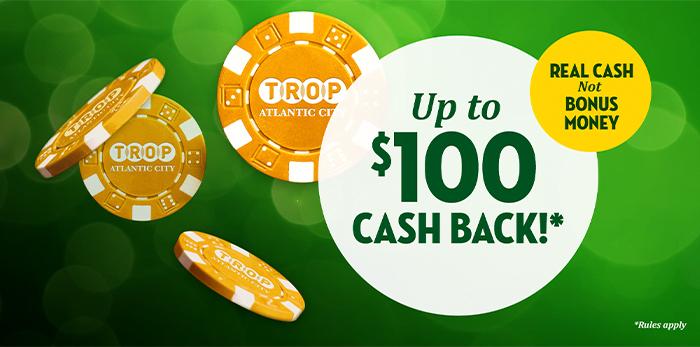 tropicana cash back