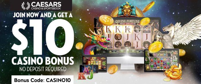 caesars 10 dollar bonus