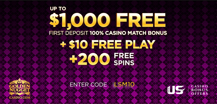 golden nugget online casino promo code