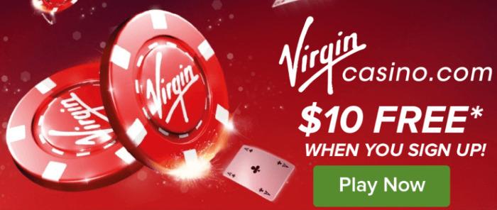 virgin casino 10 dollar bonus