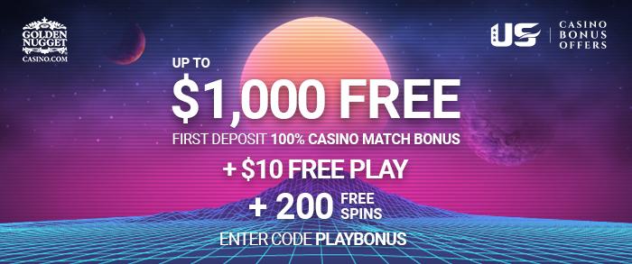 golden nugget casino bonus code