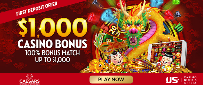 caesars casino bonus 1000