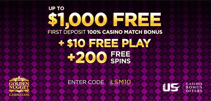 golden nugget online casino promo code