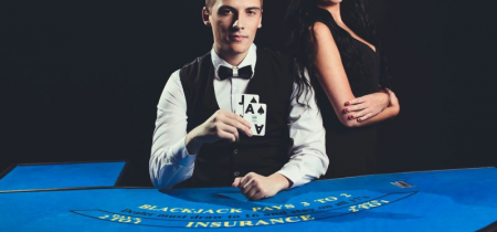 What does insurance mean in blackjack?